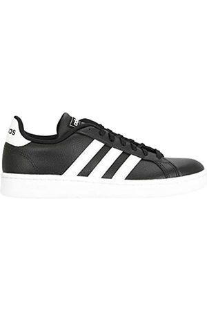 adidas Women's Grand Court Fitness Shoes, (Negbás/FTW Bla/Negbás 000)