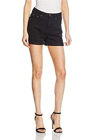 Boohoo Women's Hatty High Waisted Mom Sports Shorts
