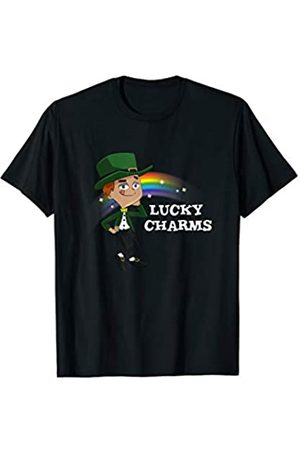 My Shirt Hub Funny St Patrick Day Gift | Rainbow Leprechaun T-Shirt
