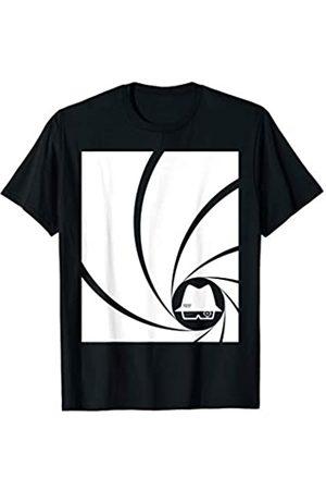 Violet Hug Gun Barrel Swirl Spy Hat Graphic T-Shirt