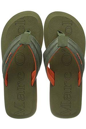 Marc O' Polo Men's Beach Sandal Flip Flops, (Oliv 415)