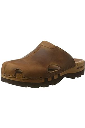 Woody Men's Lissabon Clogs, (Tabacco)