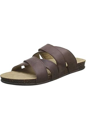 TBS Men's Saxonns Open Toe Sandals, (Marron H8005)