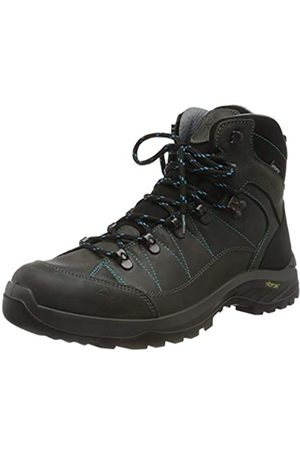 mc kinley Women's Kabru Ii Mid AQX Walking Shoe, Anthracite/Turquoise