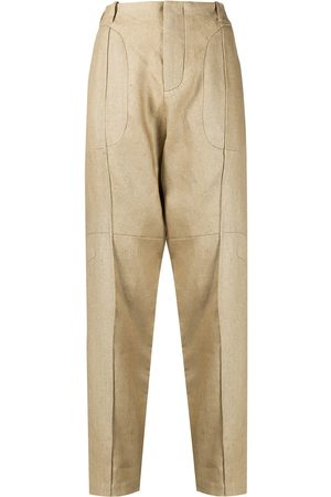 Vejas Women Trousers - Tailored chino trousers - Neutrals