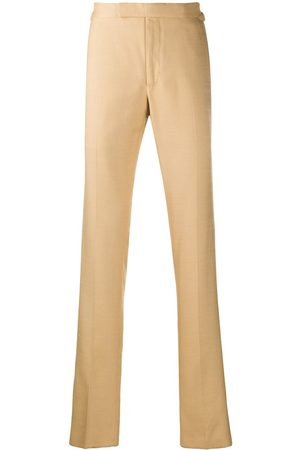 TOM FORD Straight-leg tailored trousers - Neutrals