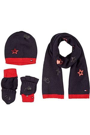 Tommy Hilfiger Men's New Born BOY Poppy GIFTPACK Scarf, Hat & Glove Set