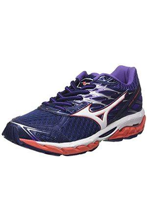 Mizuno Wave Paradox 4 Wos, Women's Running Shoes, Multicolor (Patriotblue/ /hotcoral 02)