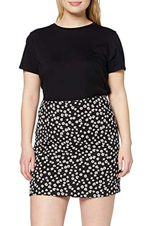 Dorothy Perkins Women's Ditsy Floral Print Textured Mini Skirt