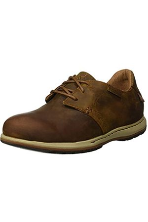 Columbia Men's Davenport Waterproof Leather Lace-up Shoes, (Elk, Nutmeg)