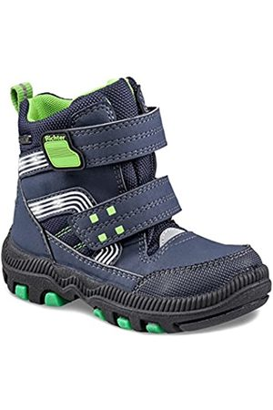 Richter Kinderschuhe Boys' Blinki (Tundra) Snow Boots, (Atlantic/ /Apple 7201)