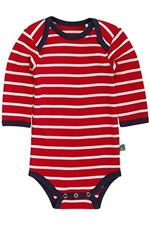 Green Cotton Baby Stripe l/sl Body Bodysuit