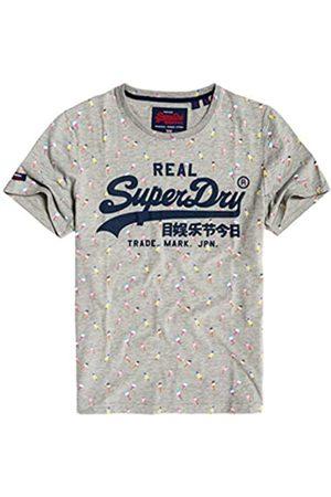 Superdry Men's Vintage Logo AOP Mid Tee Kniited Tank Top