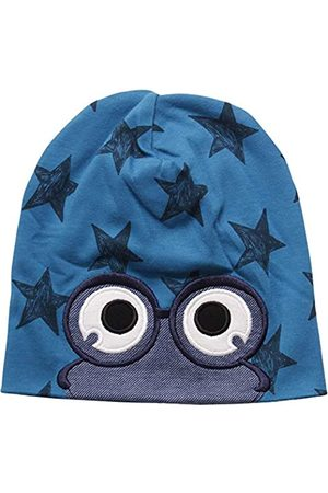 Green Cotton Baby Boys' Star Peep Beanie Hat