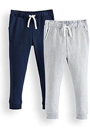 RED WAGON Amazon Brand - Boy's Sports Trousers, Pack of 2, 11 Years