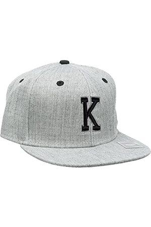 MSTRDS Boy's Letter Snapback K Kids Cap, -Grau (K 1181,4626)