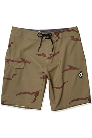 Volcom Lido Solid Mod Men's Swimming Shorts 20 Inches, Mens