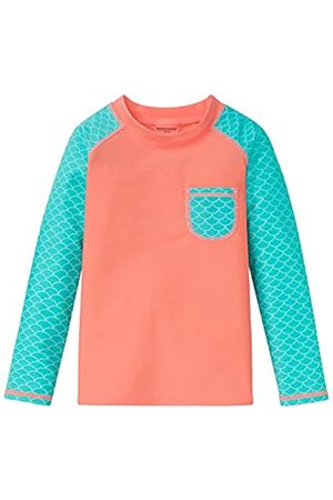 Schiesser Girl's Seepferdchen Selina Bade-Shirt Cover-Up