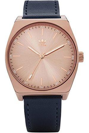 adidas Women's Analogue Quartz Watch with Leather Strap Z05-2908-00