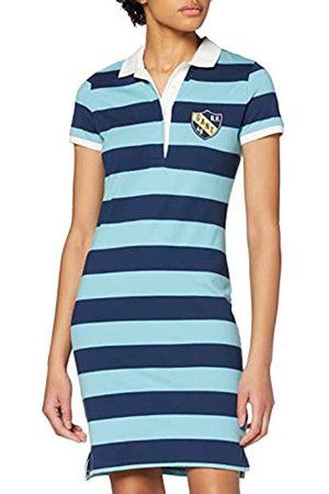 GANT Women's D2. Summer Stripe Ss Rugger Dress