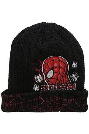 Marvel Boy's Spiderman Face Hat, ( Blk)