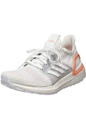 adidas Women's Ultraboost 19 Competition Running Shoes, (Ftwwht/Gre One/Semcor 000)