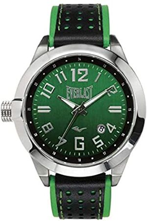 Everlast Unisex Adult Analogue Quartz Watch with Leather Strap EVER33-220-003