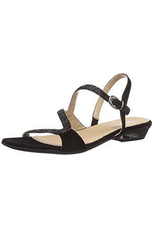 IGI&CO Women's DMI 13846 Fashion Sandals Schwarz (Nero/Nero) Size: 3.5