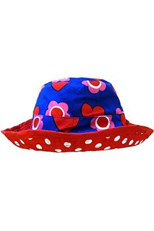 Toby Tiger Heart Flower Reversible Sun Hat 3-6m 68cm /