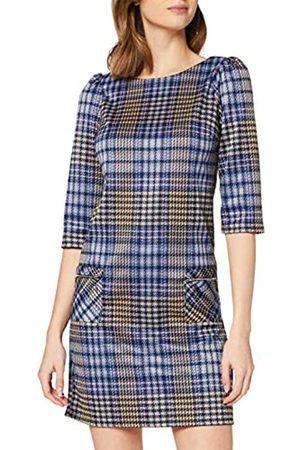Dorothy Perkins Women's Houndstooth 3 Quarter Sleeve Shift Dress