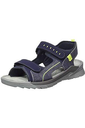 Ricosta Men's Tajo Ankle Strap Sandals, (Nautic/Teer 176)