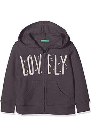 Benetton Girl's Jacket W/Hood L/s Jumper