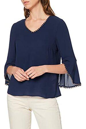 Dorothy Perkins Women's Trim Sleeve V Neck 3/4 T-Shirt