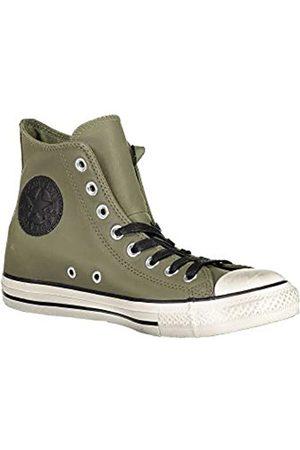 Converse Unisex Adults' Chuck Taylor CTAS Distressed Hi Low-Top Sneakers, (Field Surplus/Egret/ 322)