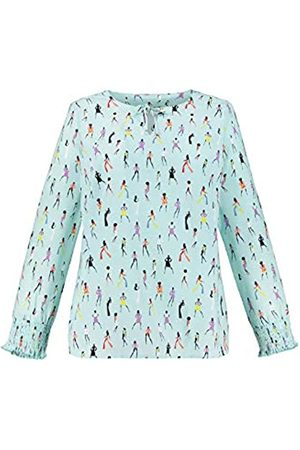 STUDIO UNTOLD Women's Große Größen Comicprint-Tunika Tunic Shirt