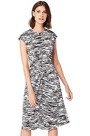 TRUTH & FABLE Amazon Brand - Women's Midi Satin Bodycon Dress, 20