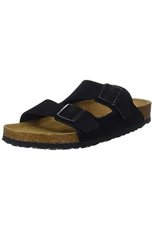 Birkenstock Men's Arizona Open Toe Sandals, Noir (Noir Noir)