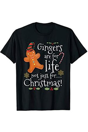 Retro xmas tees Gingers are for Life Not Just for Christmas Funny gift T-Shirt