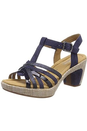 Gabor Shoes Women's Comfort Sport Ankle Strap Sandals, ( Ba.st)
