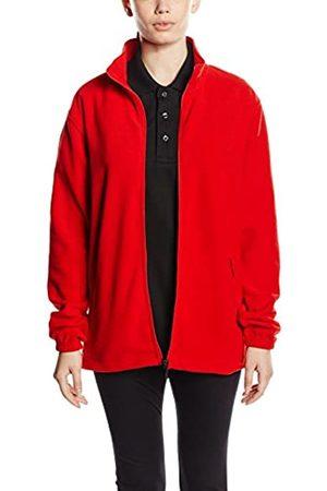 Trigema Unisex Jacket Rot (kirsch 036) 17.5