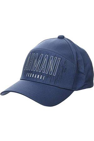 Armani Men's Horizontal Logo Baseball Cap, (Sargasso Sea-Sargasso Sea 01638)