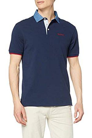 Hackett Hackett Men's Chambray Clr Polo Shirt