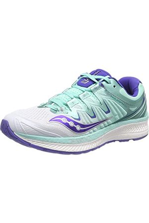 Saucony Women's Triumph Iso 4 Running Shoes, ( /Aqua 35)