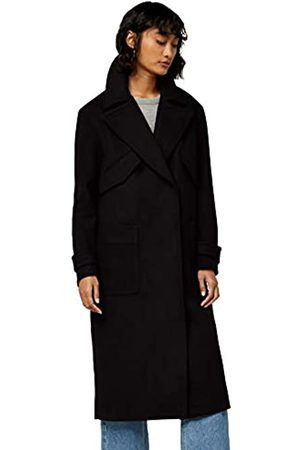 FIND Amazon Brand - Women's Luxury Trench Coat, 16