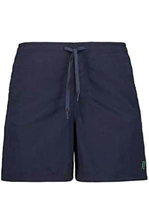 JP 1880 Men's Big & Tall Contrast Lined Quick Dry Swimming Trunks Navy Large 702532 70-L
