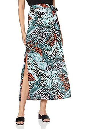 Dorothy Perkins Women's Zebra Palm Maxi Skirt