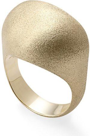 Hstern Yellow Golden Stones Ring