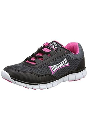 Lonsdale London Women's Southwick Multisport Outdoor Shoes, (Charcoal/ / )