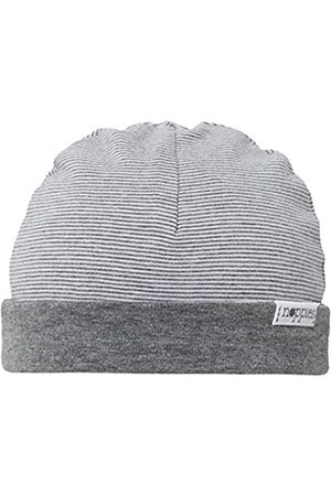 Noppies Baby U Hat REV Erin Stripe, -Grau (Anthracite Melange C247)