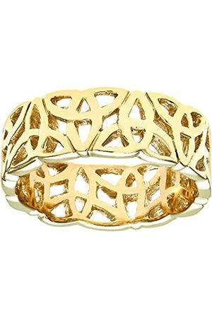 Citerna 9 ct Yellow Band Ring - Size U